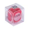 Invisi Bobble Raspberry Red hair ring