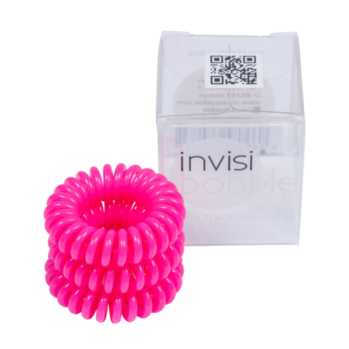 Invisi Bobble Candy Pink hair ring