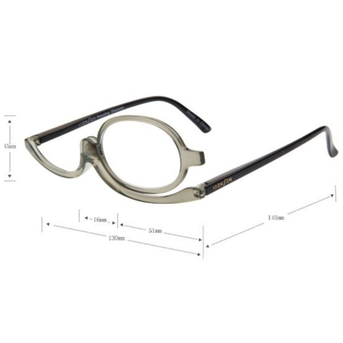 Make-up glasses - available 3 different