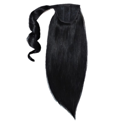BPhair Ponytail extension Black -hiuspidennys