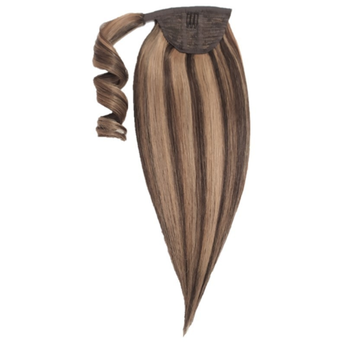 BPhair Ponytail extension Brown highlights -hiuspidennys